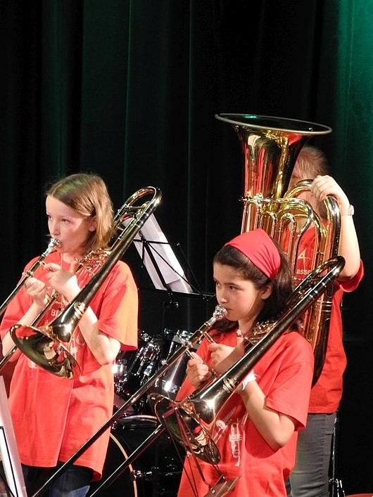 Bläserklasse Schule Musikschule